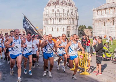 "IL 185° RRAO in massa alla corsa ""RUN TO THE TOWER"""